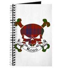 Ross Tartan Skull Journal