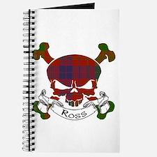 Ross Tartan Skull Journal