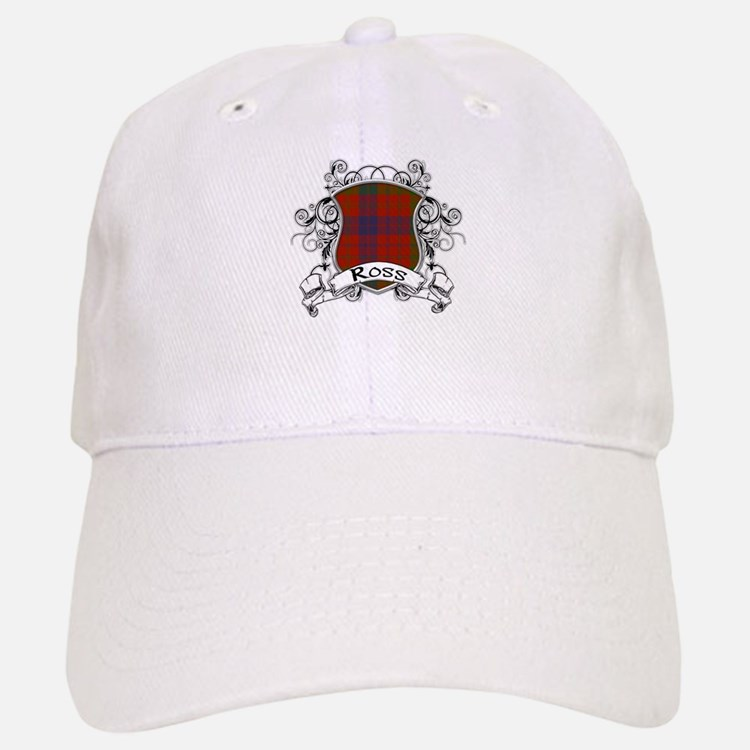 Ross Tartan Shield Baseball Baseball Cap