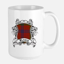 Ross Tartan Shield Mug