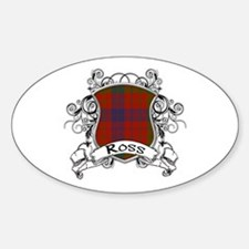 Ross Tartan Shield Decal