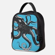 Octopus Neoprene Lunch Bag