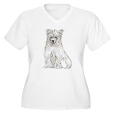 Chinese Crested Powder Puff T-Shirt