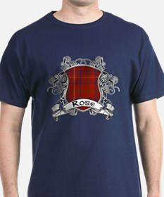 Rose Tartan Shield T-Shirt