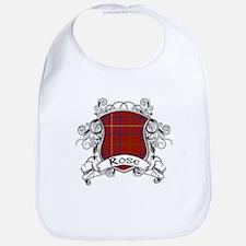 Rose Tartan Shield Bib