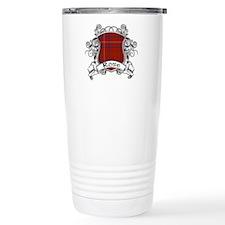 Rose Tartan Shield Travel Mug