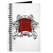Rose Tartan Shield Journal