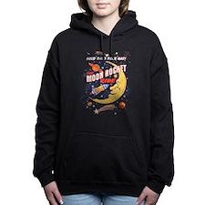 Moon Rocket Ride (vintag Women's Hooded Sweatshirt