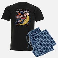 Moon Rocket Ride (vintage) Pajamas