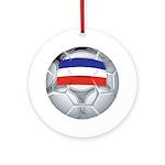 Yugoslavia Football Ornament (Round)