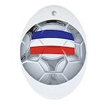 Yugoslavia Football Oval Ornament