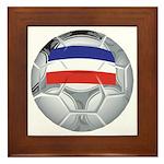 Yugoslavia Football Framed Tile