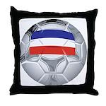 Yugoslavia Football Throw Pillow