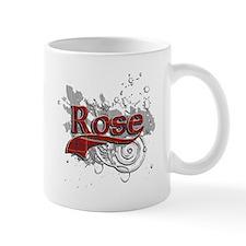 Rose Tartan Grunge Mug