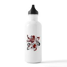 Rose Tartan Lion Water Bottle