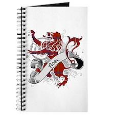 Rose Tartan Lion Journal