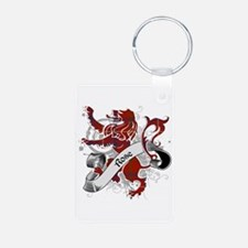 Rose Tartan Lion Keychains