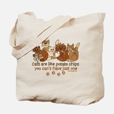 Cute Cat quotes Tote Bag