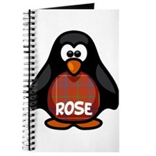 Rose Tartan Penguin Journal