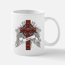 Rose Tartan Cross Mug