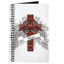 Rose Tartan Cross Journal