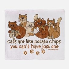Cute Potatoe Throw Blanket
