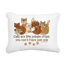 Cute Cat lady Rectangular Canvas Pillow