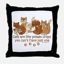 Cute Cat designs Throw Pillow