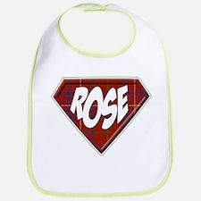 Rose Superhero Bib