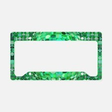Optical Illusion Sphere - Green License Plate Hold