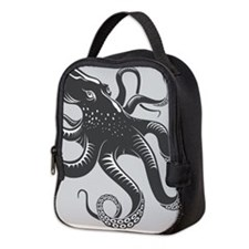 Octopus Neoprene Lunch Bag