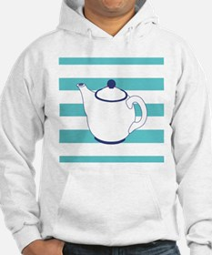 Teapot on Stripes Hoodie