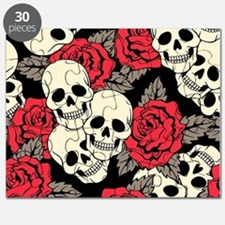 Flowers and Skulls Puzzle