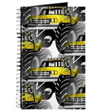 Yellow MONSTER Truck Journal