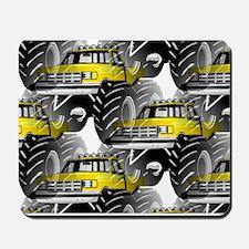 Yellow MONSTER Truck Mousepad