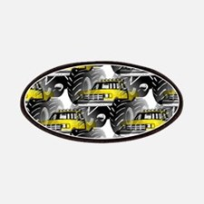 Yellow MONSTER Truck Patches