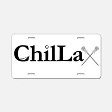 ChilLax Aluminum License Plate