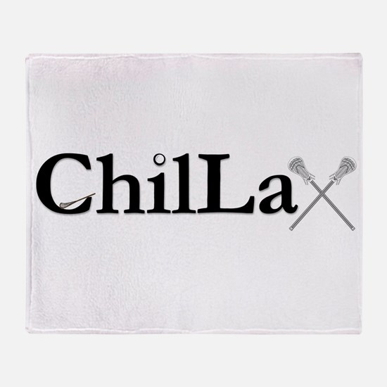 ChilLax Throw Blanket