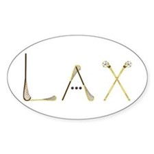 Lax Traditional Decal