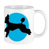 Standard poodle Coffee Mugs