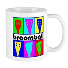 Broomball Heads Mug