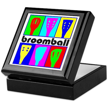 Broomball Heads Keepsake Box