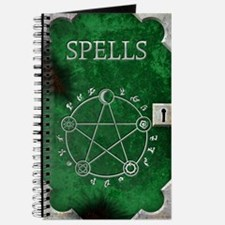 Spell Book Green Journal