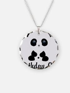 Birthday Girl Panda Bear Necklace