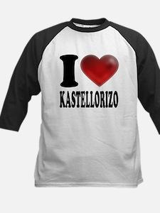 I Heart Kastellorizo Baseball Jersey