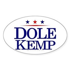 Dole Kemp Oval Decal