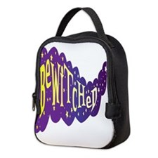 The Word Bewitched With Stars Neoprene Lunch Bag