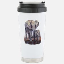 Elephants Mom Baby Travel Mug
