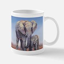 Elephants Mom Baby Mugs