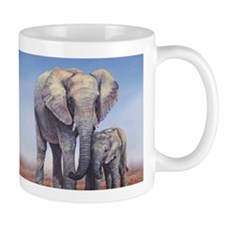 Elephants Mom Baby Mugs
